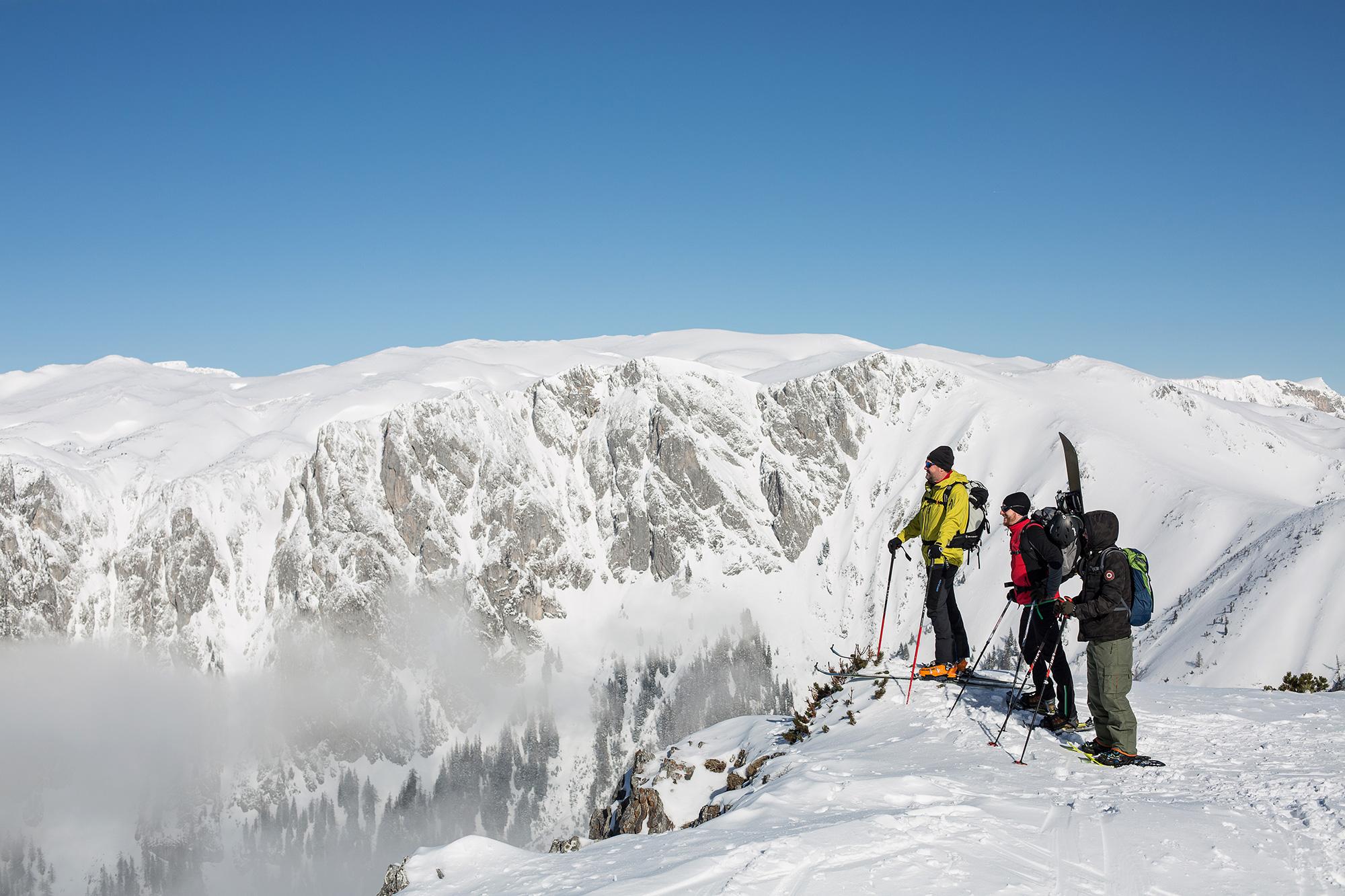 Aflenz Bürgeralm, geführte Skitouren