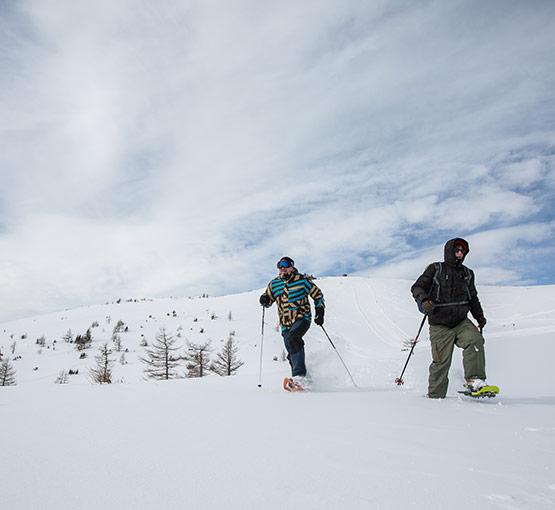 Aflenz Bürgeralm Schneeschuhwandern