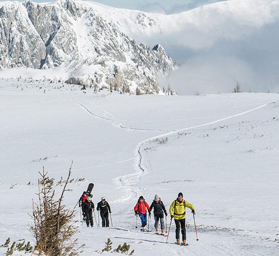 Aflenz Bürgeralm Skitouren