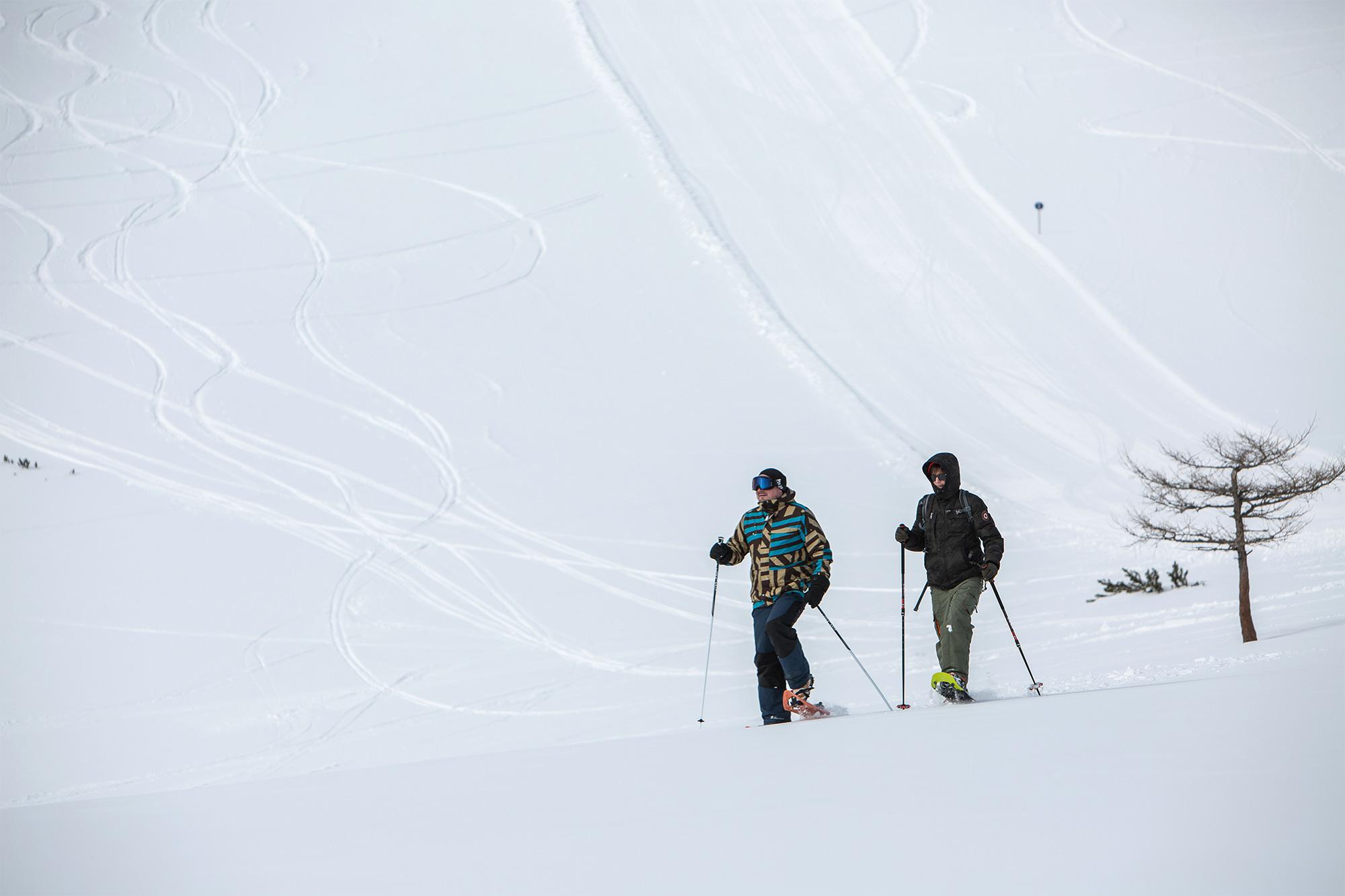 Bürgeralm Schneeschuhrunde